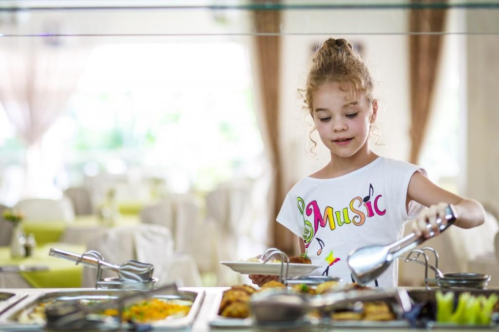 Отдых с детьми питание в
